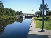 Northern Side of Lock C5.