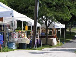 Jordan Canal Celebration and Village Wide Yard Sale.