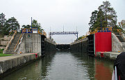 The eastern side of the lock.