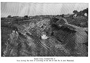 Excavation for the lock in 1907.