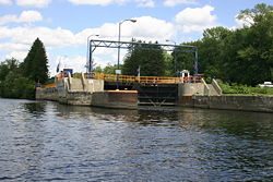 Lower view of Lock 7.
