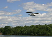 Float Planes are common sites along all the canals.